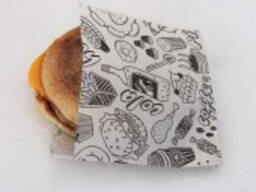 """Пакет бумажный для гамбургера """"Super Burgers"""" 8.33"""