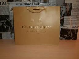 Пакет фирменный подарочный оригинальный Burberry, Италия