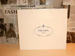 Пакет фирменный подарочный оригинальный Prada, Италия