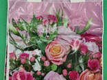 """Пакет ламинированный с петлевой ручкой маленький """"Розовый"""" 2706 (23х29) 50мк ДПА (50 шт) - фото 2"""