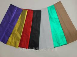 Пакет с центральным швом 90*320 (30+30) (500г) цветной