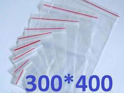 Пакет Ziplock 300x400