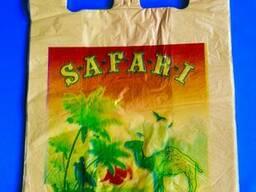 Пакеты майка сафари 30х50 прочные