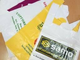 Пакети поліетиленові з нанесеням логотипу
