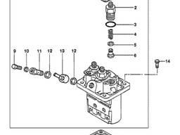 Паливний насос високого тиску PJ7413168 для Volvo