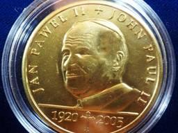 Памятная монета. (б/У). Польша. Иоанн Павел II 1920-2005. *