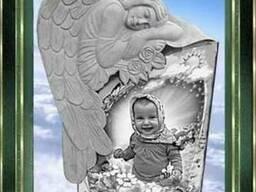 Памятник ангел гранитный