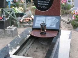 Памятники, гранитная плитка, изделия из гранита - фото 4