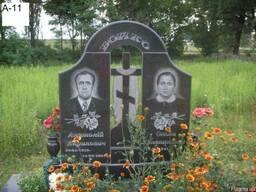 Памятники гранитные двойные в Ровно, гранит цена
