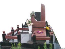 Памятники из гранита и гранитной крошки