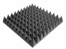 Панель из акустического поролона Ecosound пирамида 90мм. ..