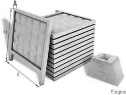 Панели ограждений железобетонные ЗП-250 забор железобетонный