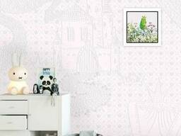 Дизайнерские фотообои в детскую для девочки Царевна Лягушка Princess and Frog 150 см х. ..