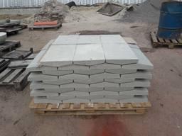 Парапет бетонный 1250х160х35 мм