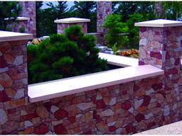 Парапет бетонный, полупарапет бетонный 1250х400мм