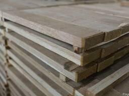 Паркетная заготовка из дуба, заготовки из древесины, фриза.