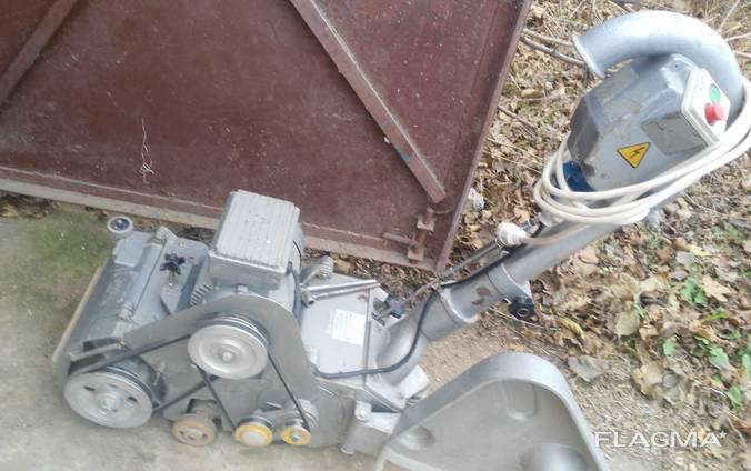 Паркетошліфувальна машина паркетошлифовальная машинка циклев