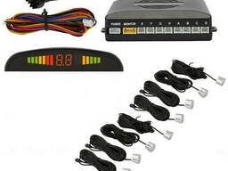 Парковочная система Parking Sensor System R1355 c LED. ..