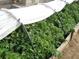 Парник 4 м из агроволокна Agreen «СУФ-30, 42, 50» прочный