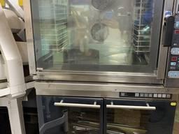 Пароконвекционная печь Unox XB 603G - б/у .