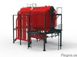 Паровой котел ДКВр давлением 2, 3 и 3, 9 МПа (газ, мазут, уголь)