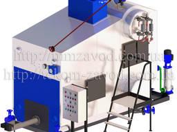 Паровой котел Е-0, 7-0, 9Р для работы на биотопливе