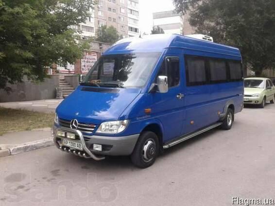 Пассажирские перевозки по Запорожью и Украине