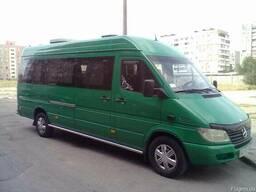 Пассажирские перевозки, аренда микроавтобуса. - фото 1