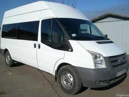 Пассажирские перевозки микроавтобусом до 8 мест