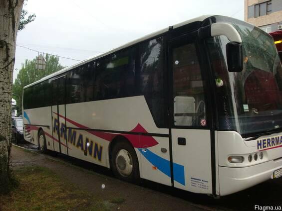 Пассажирские перевозки по Запорожью и Украине Неоплан 54 мес