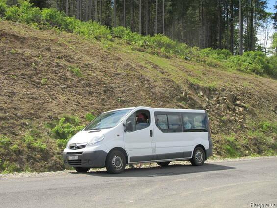 Пассажирские перевозки в Карпати