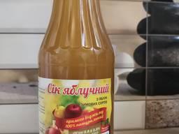 Пастеризованный яблочный сок прямого отжима