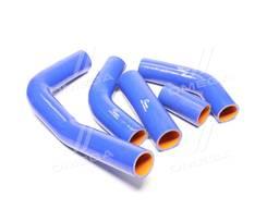 Патрубки радиатора Газель, Газ 3302, УМЗ 4215, комплект 5 шт. , силиконовые