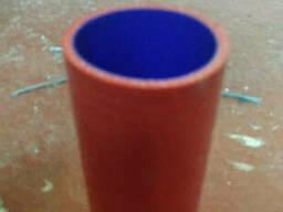 Патрубок радиатора УРАЛ 4320 нижний 58х155 60х155 RED. ..