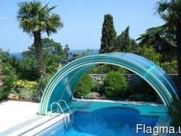 Павильон (накрытие) для бассейна
