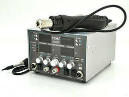 Паяльная станция Bakku BA-8305D цифровая индикация, фен, паяльник, БП DC 0-30В, 5A. ..