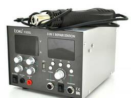 Паяльная станция Bakku BA-9305L цифровая индикация, фен, паяльник, БП DC 0-30В, 5A. ..