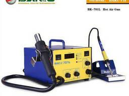 Паяльная станция Bakku BK-701L цифровая индикация, фен, паяльник (325*270*190) 4, 88 кг