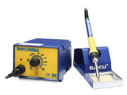 Паяльная станция Bakku BK-936A, паяльник с блоком регулировки, Box (263*215*118) 1, 78 кг