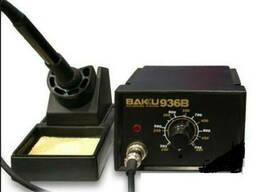 Паяльная станция Bakku BK936B, паяльник с блоком управления, Box (263*215*118) 1, 5 кг