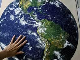 Пазлы круглые 1000 элементов Планеты