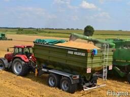 ПБН-30 зерновоз, бункер перегрузчик зерна