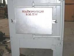 Печь электрическая муфельная 1300С, СНО 3х6х3