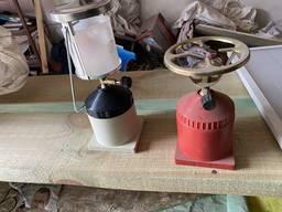 Печь-горелка и фонарь туристический (опт)