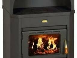 Печь на дровах отопительно-варочная Prity (евробуржуйка)