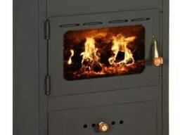 Печь отопительная на дровах Prity K1 (евробуржуйка)