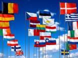 Печать флагов сольвент флаг прапор друк сублимация - фото 6
