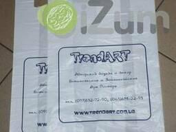 Печать логотипа на полиэтиленовых пакетах