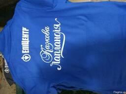 Печать на футболках, на полиэтиленовых пакетах