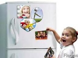 Печать на магнитах (Магниты на холодильник на заказ. Фотомаг